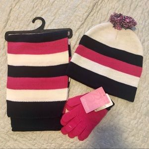 Girls Three Piece Winter Set